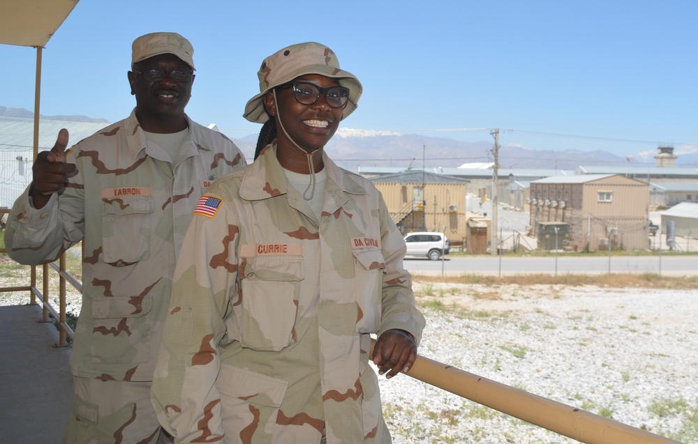 Answering the call – Army and DoD civilians volunteer to deploy