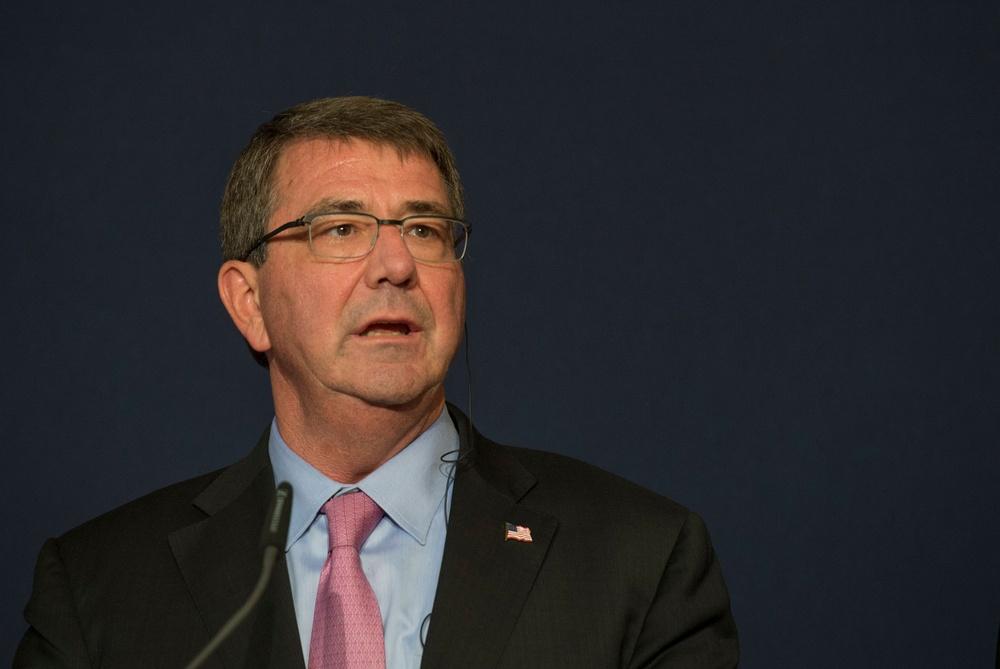 Secretary of defense visits Germany