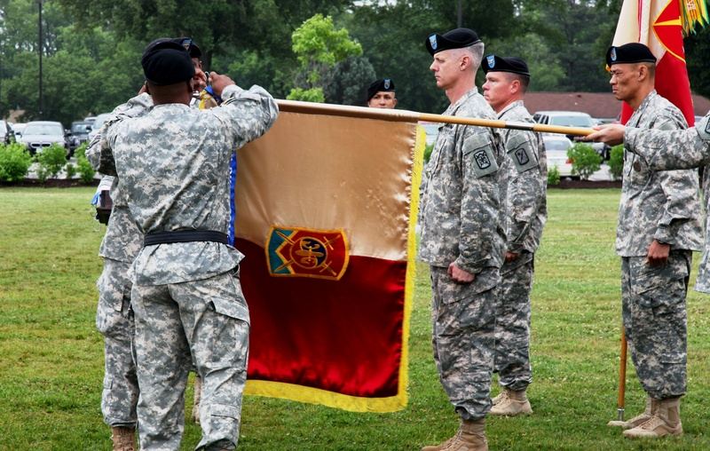 The 501st SBDE, the Champions brigade, is honored with the Distinguished Unit of the Regiment streamer