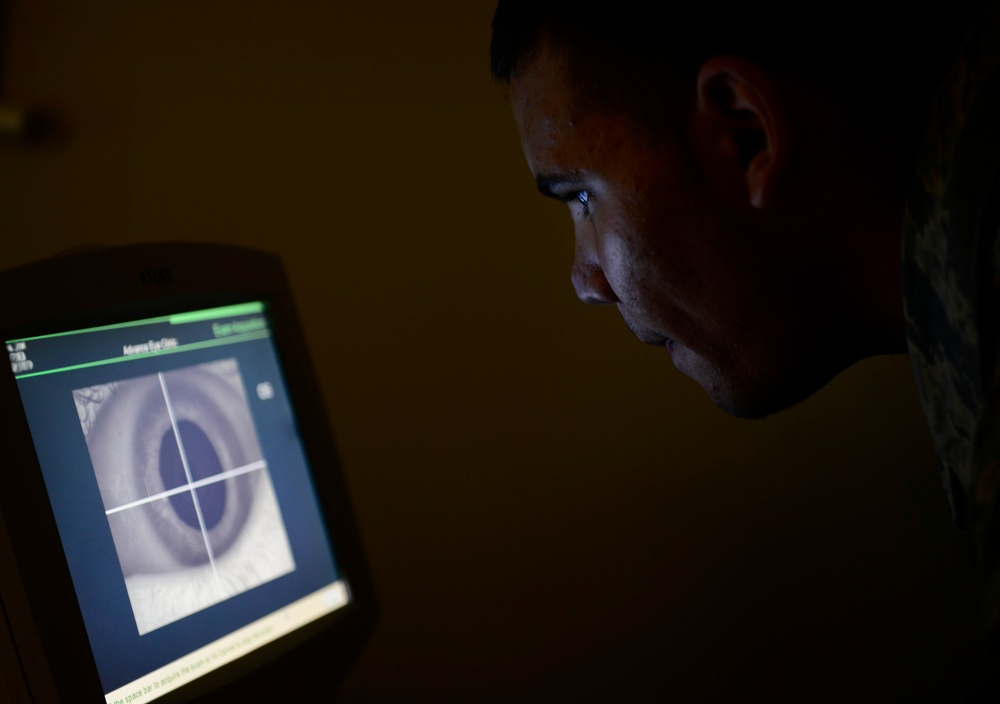 Optometry helps keep focus on the mission