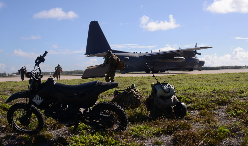 353rd SOG collaborates with 36th CRG to open Wake Island airfield