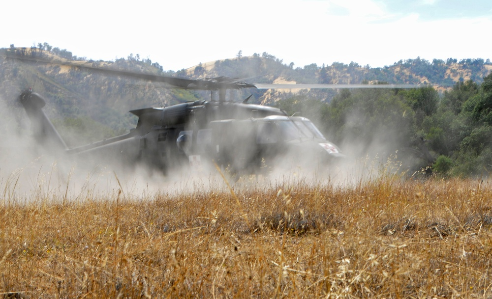 Soldiers perform mass CASEVAC at Hunter-Liggett