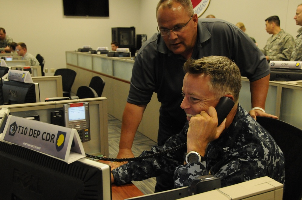 US Northern Command helps at Illinois National Guard exercise