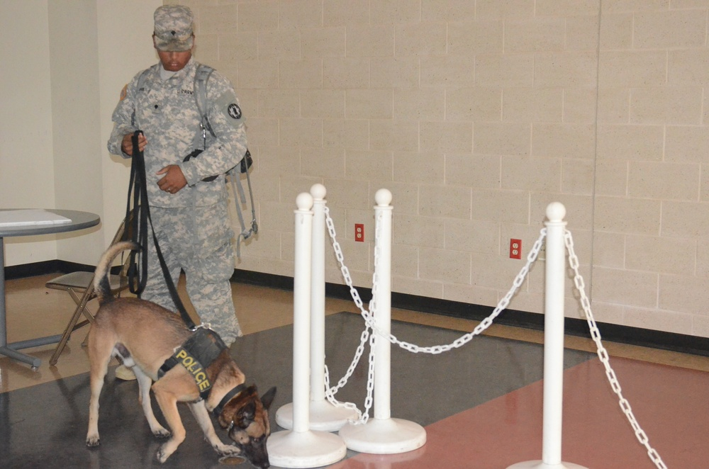 Fort Hood's Annual Canine Certification Course