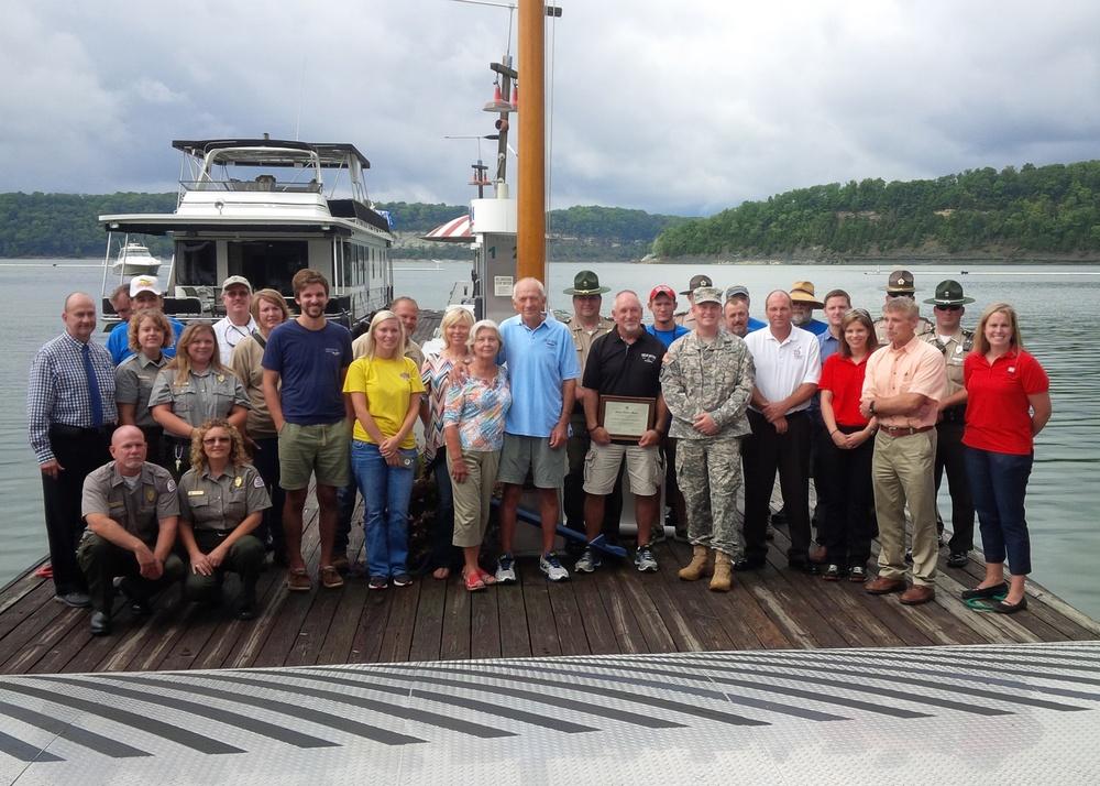 Lake Cumberland Marina earns 'Clean Marina' flag