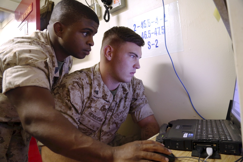 Network it out: Cyber Network Specialists help Marines communicate at PMINT