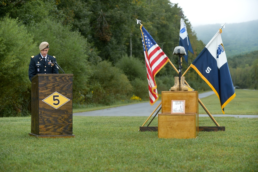 Pfc. Giffen memorial