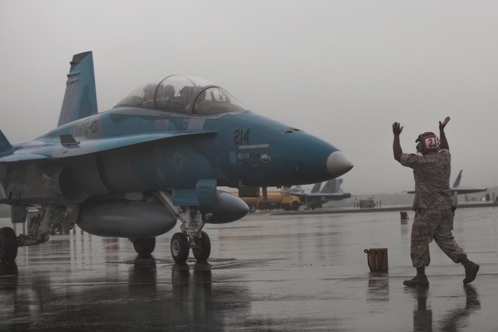 MCAS Beaufort hosts Hornet training squadron