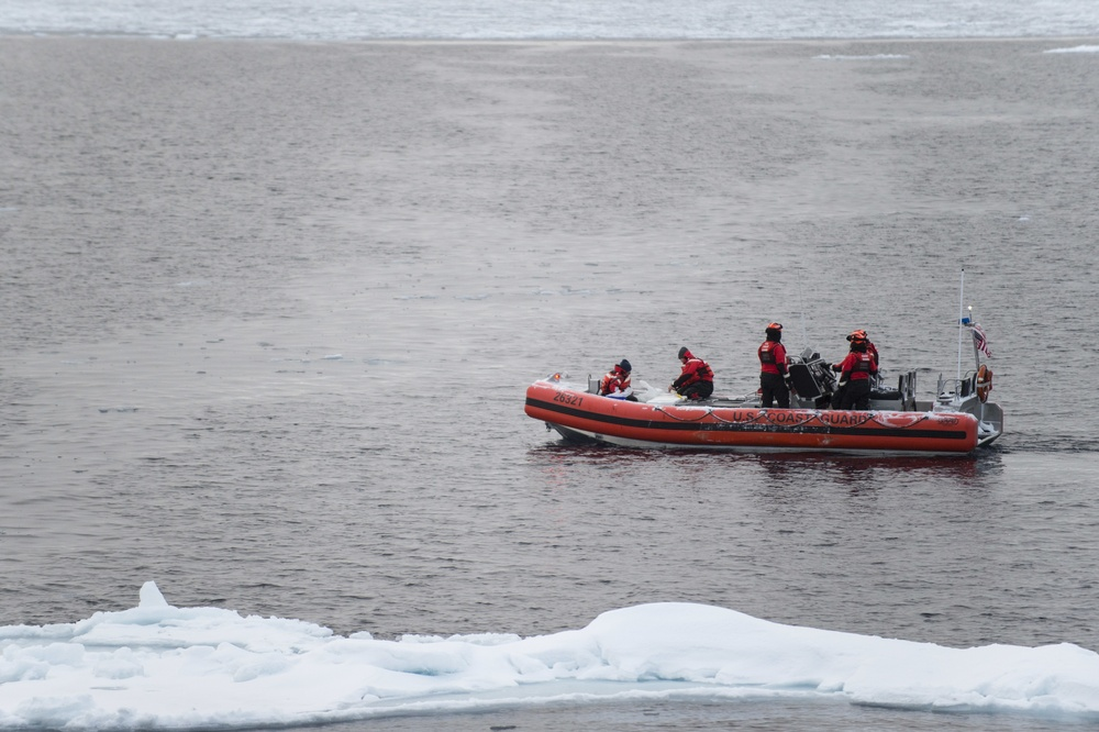 Coast Guard Cutter Healy supports Geotraces mission to the Arctic