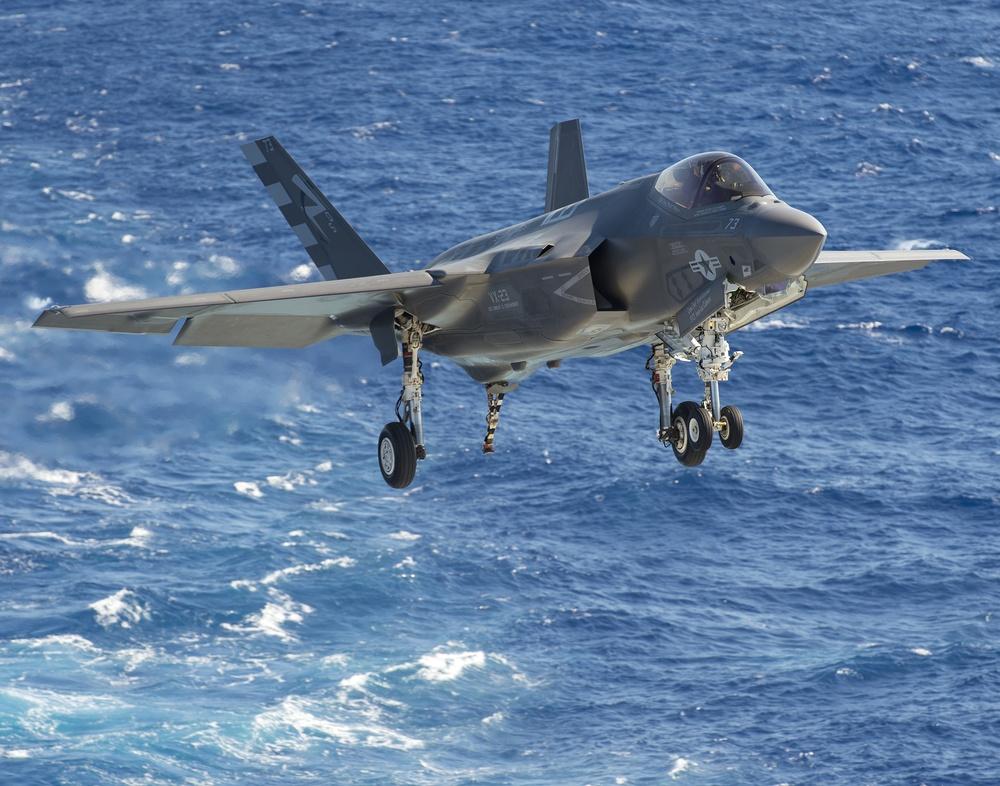 F-35 lightning II begins DT-II aboard USS Dwight D. Eisenhower