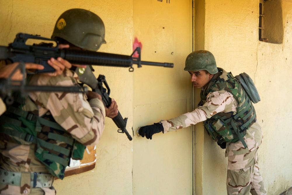 Urban operations training at Camp Taji, Iraq