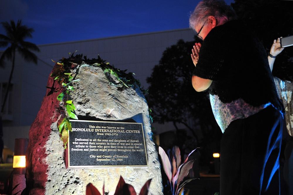 Honolulu City and County, U.S. Military rededicate site as war memorial