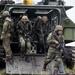 Brazilian Marines amphibious exercise
