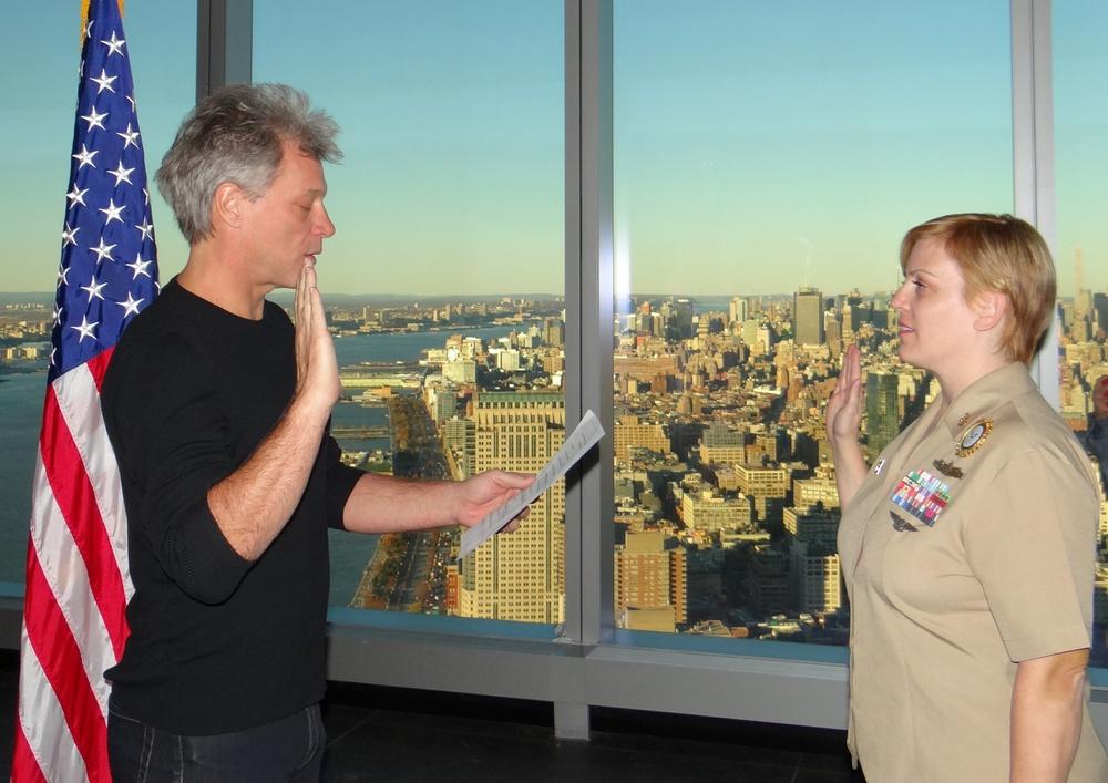 Bon Jovi ceremony