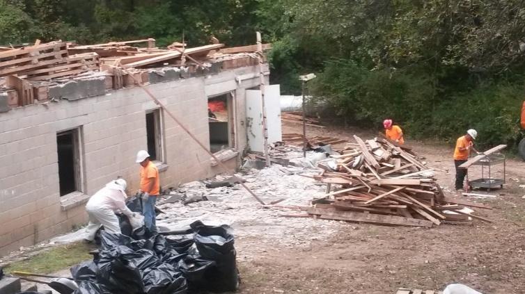 Facilities Reduction Program declares deconstruction pilot project a success