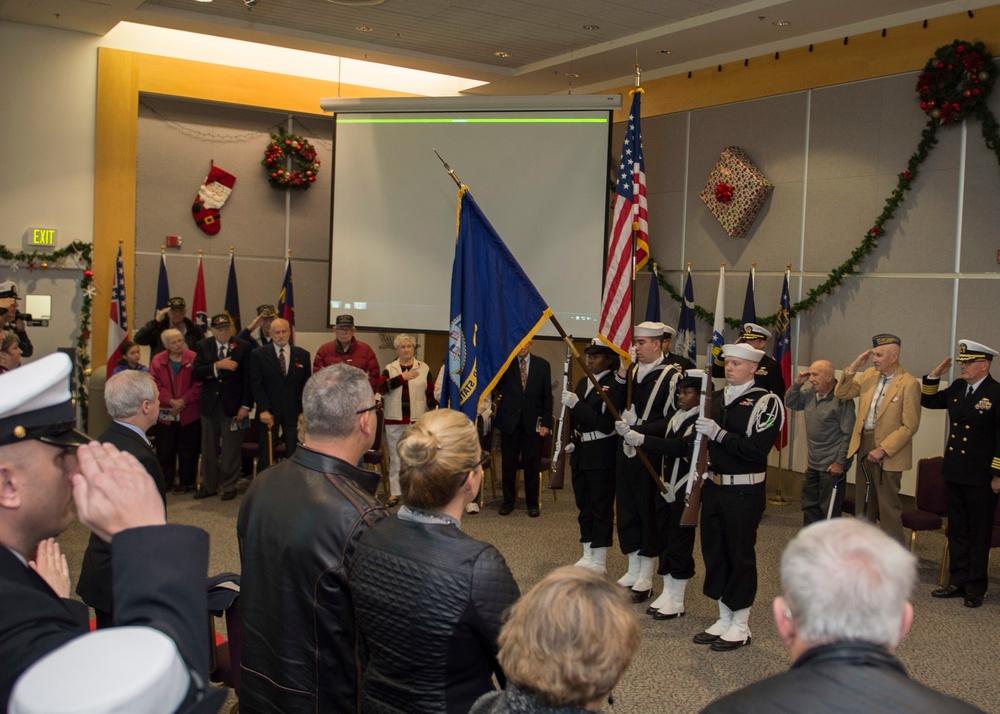 Naval Station Everett Pearl Harbor Rememberance Day Celebration