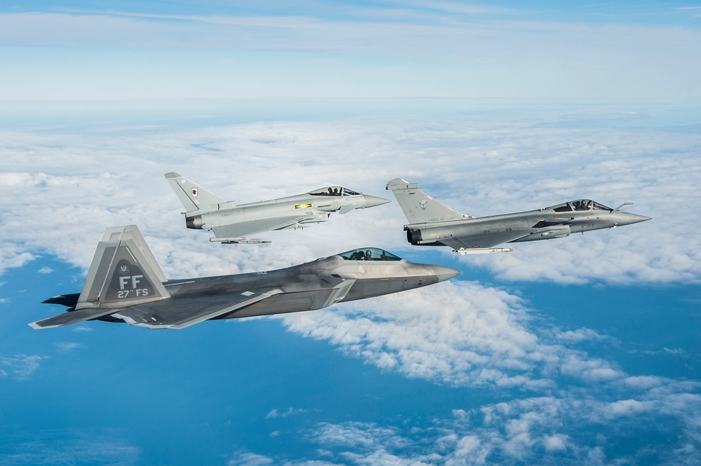 1st Fighter Wing hosts coalition aerial exercise