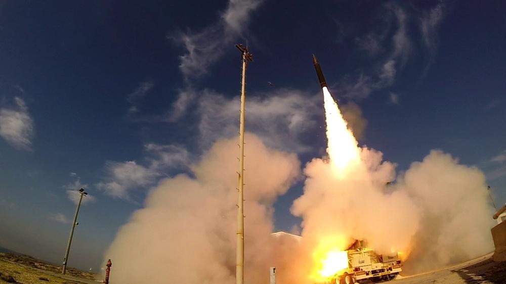 AST-15 flight test