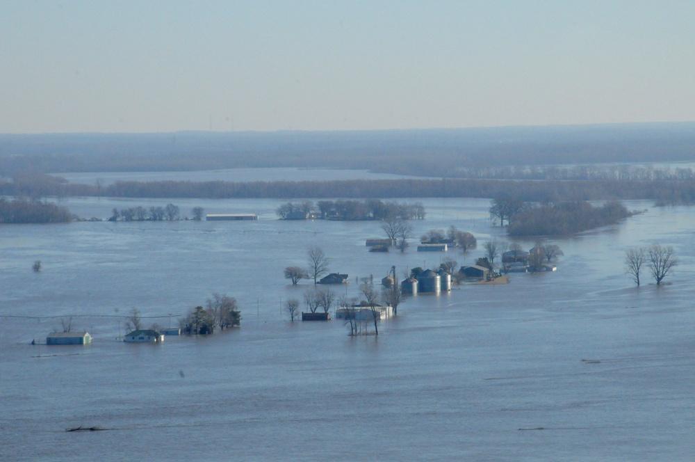 Impacted areas near Cape Girardeau, Mo.