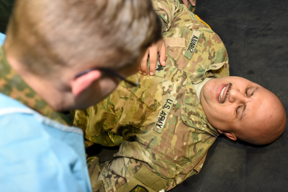 30th Medical Brigade Exercise MEDSHOCK