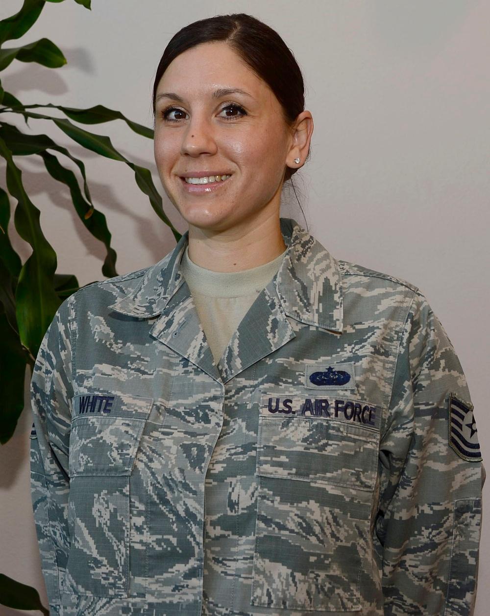 Warfighter of the Week: Tech. Sgt. Cassandra White
