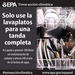 Run your dishwasher only with a full load (Spanish)