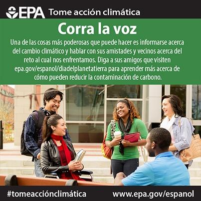 Spread the word (Spanish)