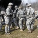 Cavalry troops and aviators train together