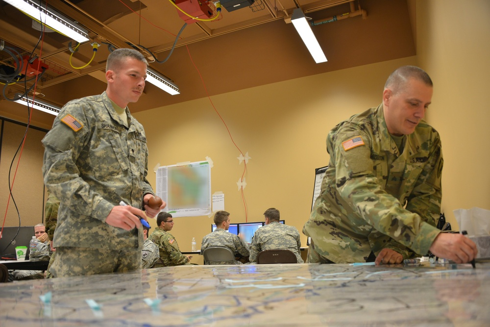 Civil Affairs Soldiers take part in WFX 16