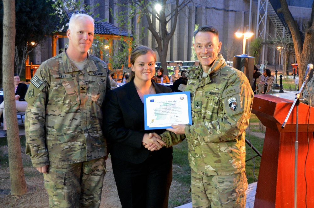 Resolute Support, CSTC-A celebrate International Women's Day