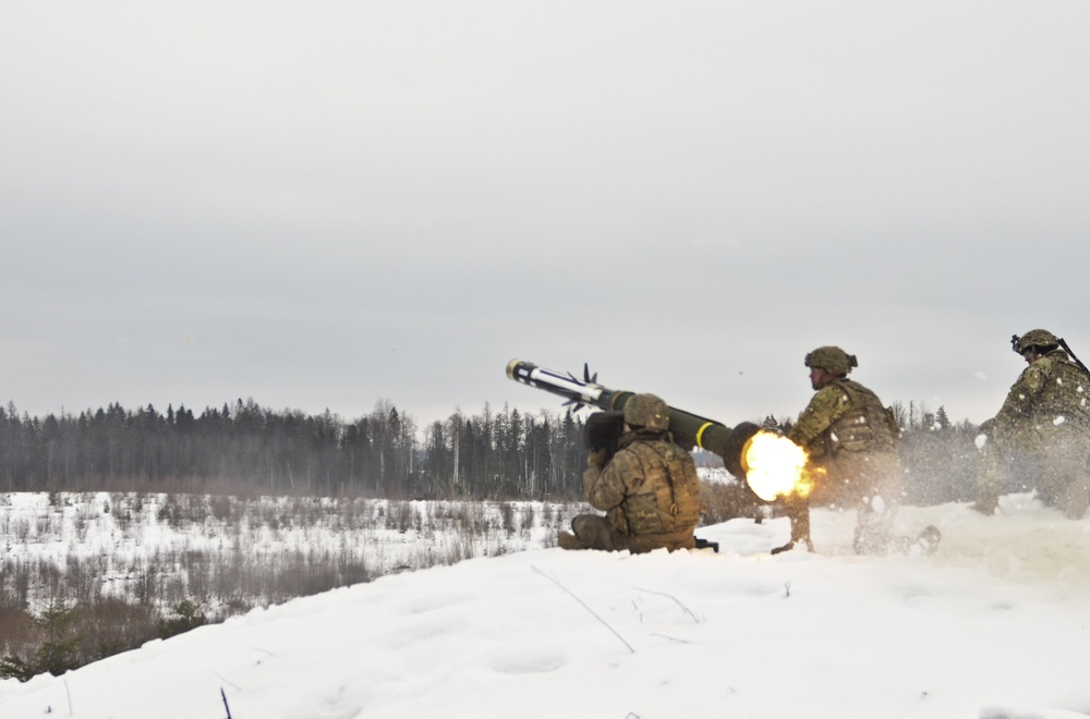 Iron Troop rocks Estonia with live fire exercise