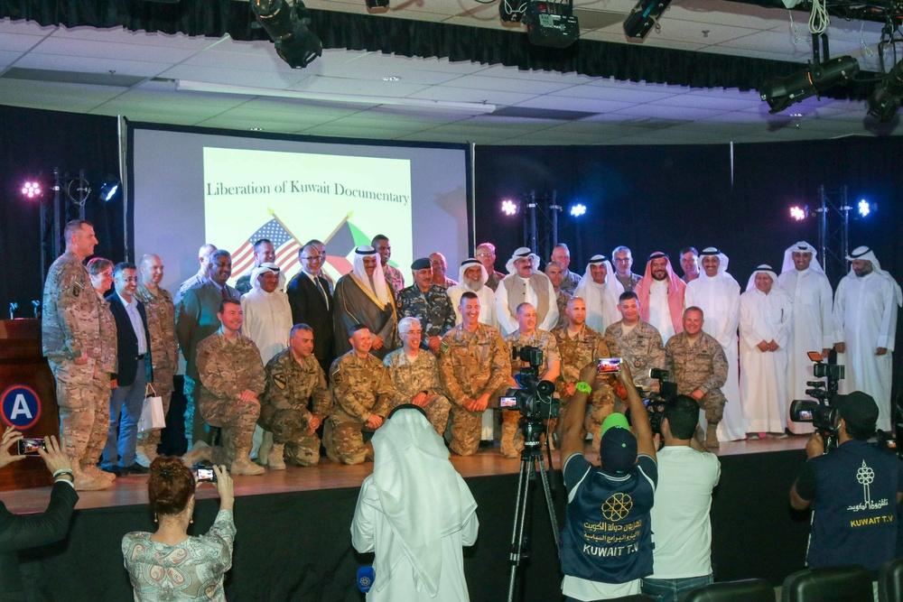 US, Kuwait honor Desert Storm veterans on 25th anniversary