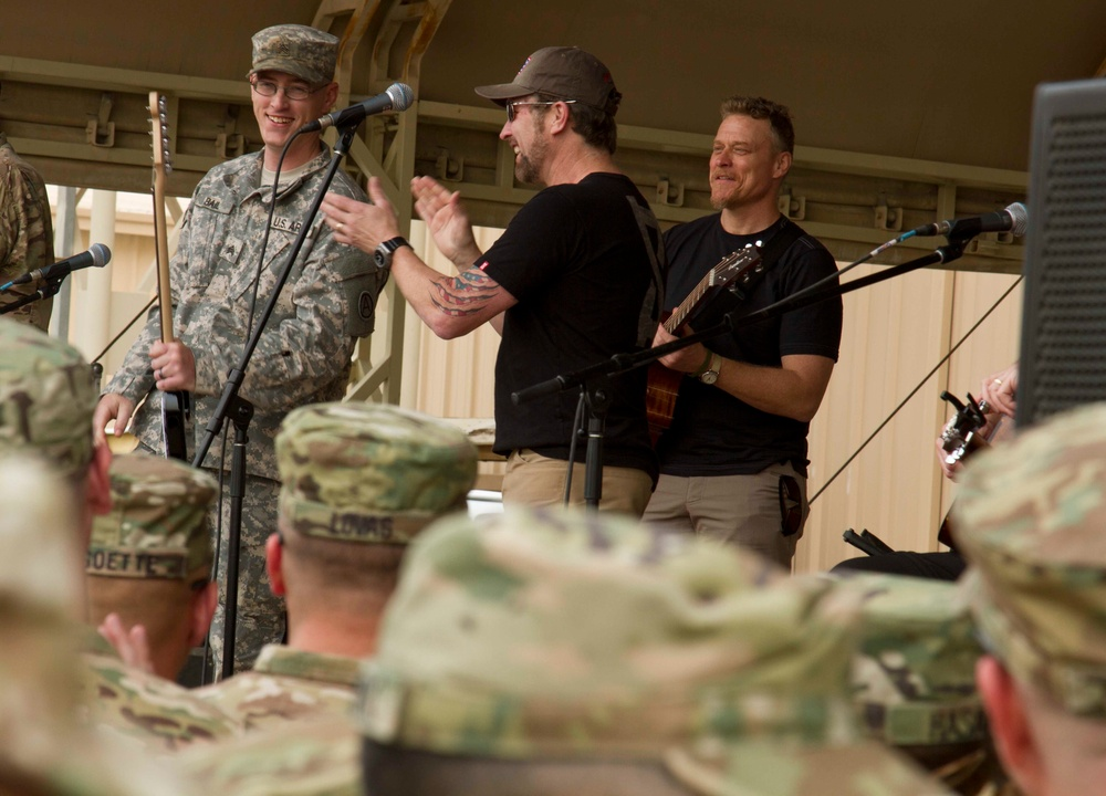 USO marks 75 years of bringing parts of home to the troops