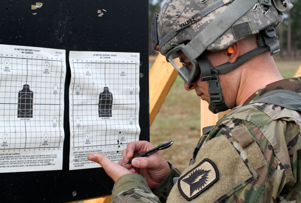 2016 Soldier of the Year Competition