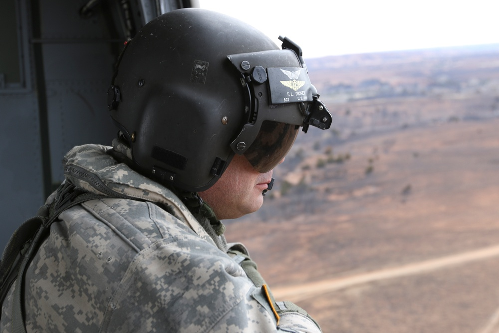 Kansas National Guard joins Anderson Creek Wildfire fight