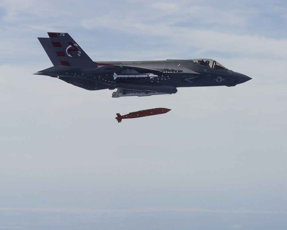 F-35 Launches Joint Standoff Weapon