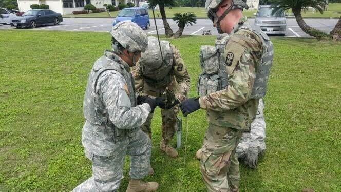Bravo Bulldogs, 1-1 ADA Take a Bite out of the 18th Wing MRE