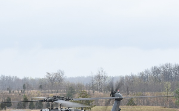 8-229th Conducts Air Assault Operations with the 95th Training Division
