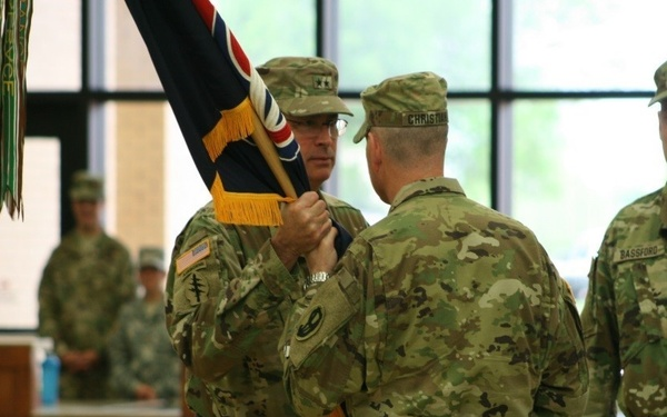 """95th Training Division (Initial Entry Training) """"Welcomes Home"""" Its Newest Commander"""