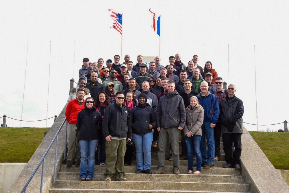 U.S. Army Europe's Combat Support Hospital takes Battle Staff Ride to Normandy