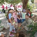Girl Scouts acknowledge Earth Day 2016 with tree planting at Camp As Sayliyah
