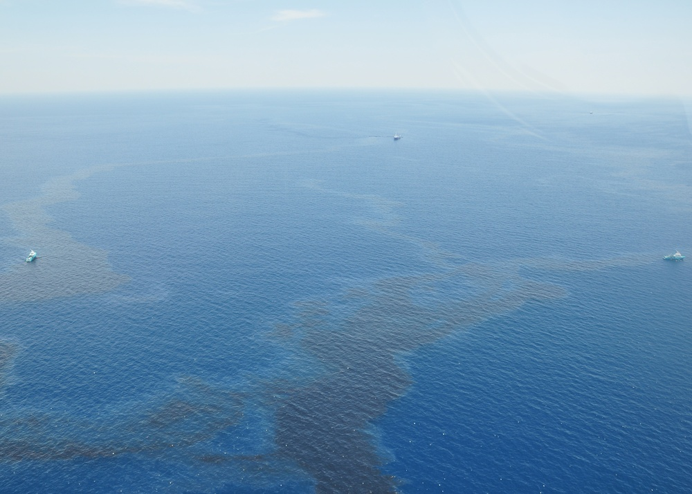 Coast Guard, Shell response to offshore spill