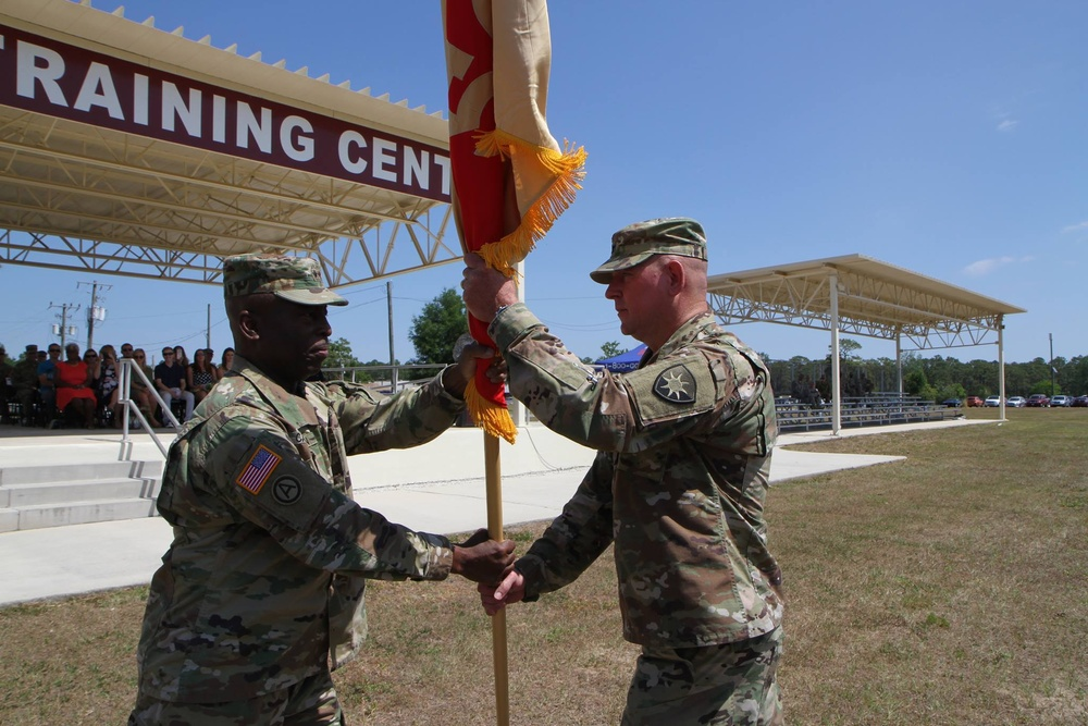 Florida's 50th Regional Support Group changes commanders