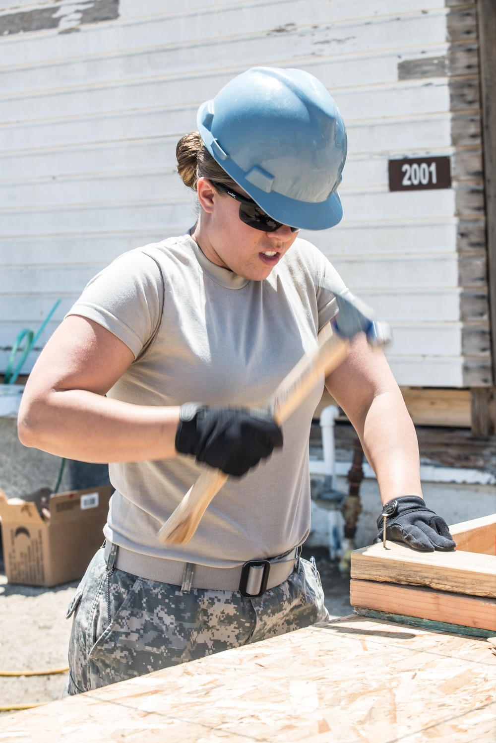Building a future, repairing lost history: 315th Engineer Vertical Construction Company renovates aging buildings on Camp Roberts