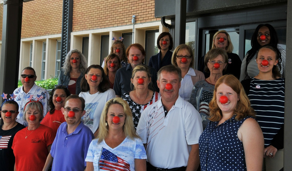 NSWC PCD Supports Red Nose Day