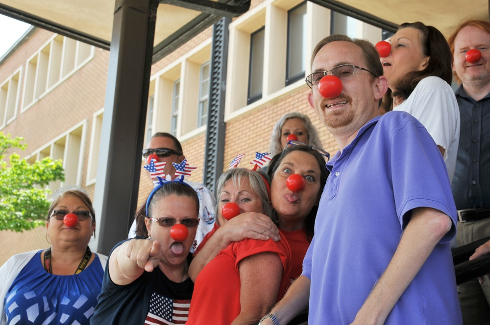 NSWC PCD Supports #REDNOSEDAY