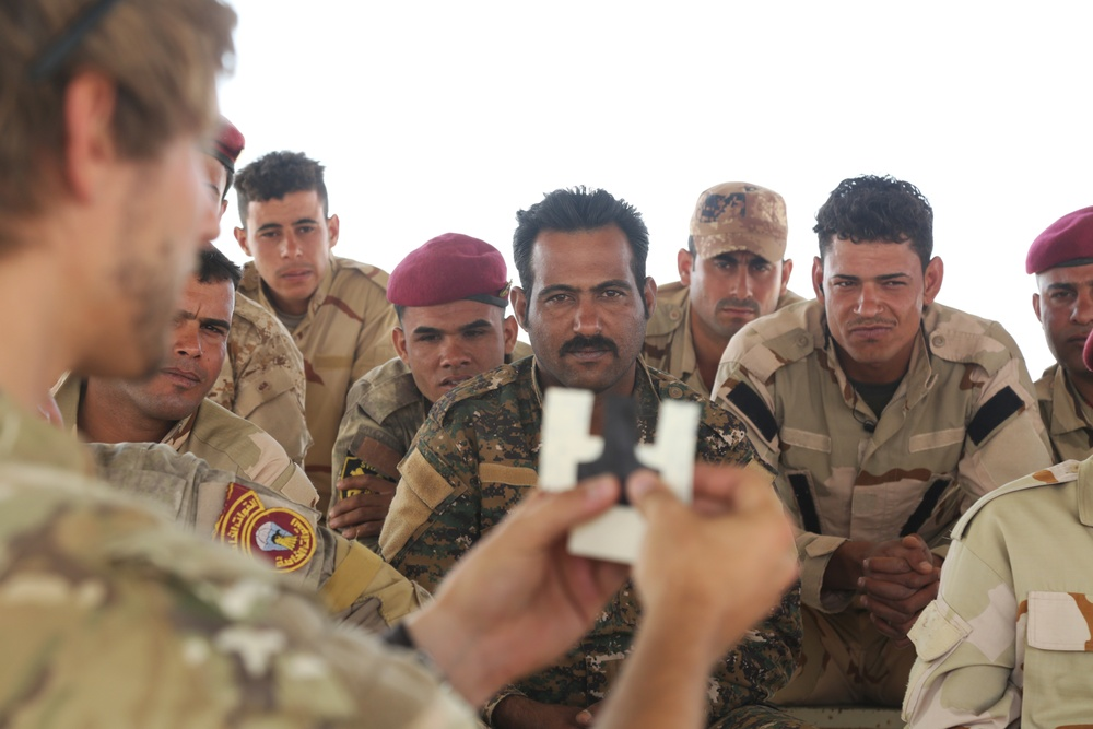 Royal Danish Army trains Iraqi Security Forces
