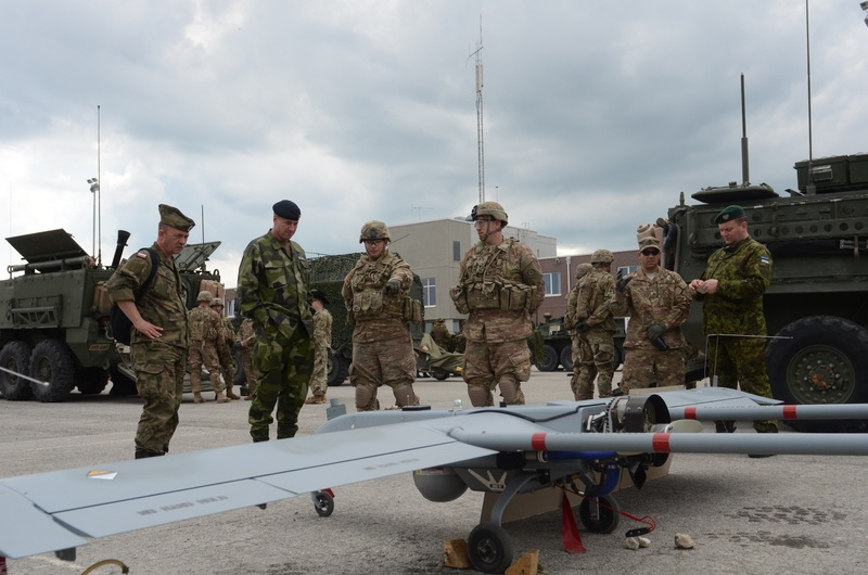 Saber Strike 16 comes to an end in Estonia
