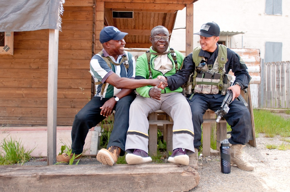 Bad Guys Team Up With National Guard For Training
