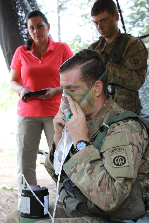Scout medics, new oxygen equipment
